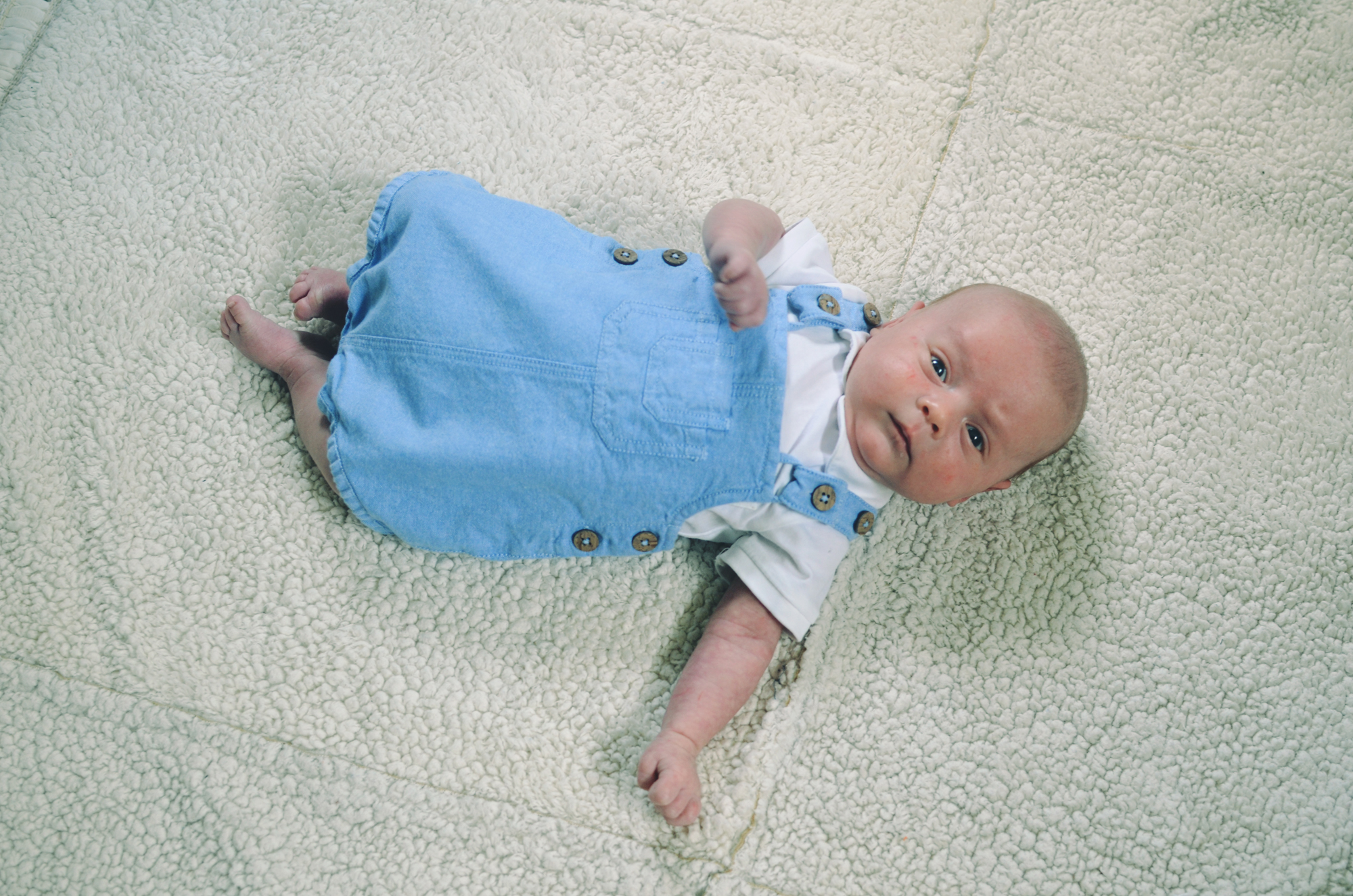 Ian - One Month Old