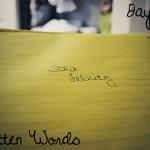 Day 13: Handwritten Words