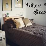 Day 21: Where I Sleep