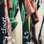 Day 23: In My Closet