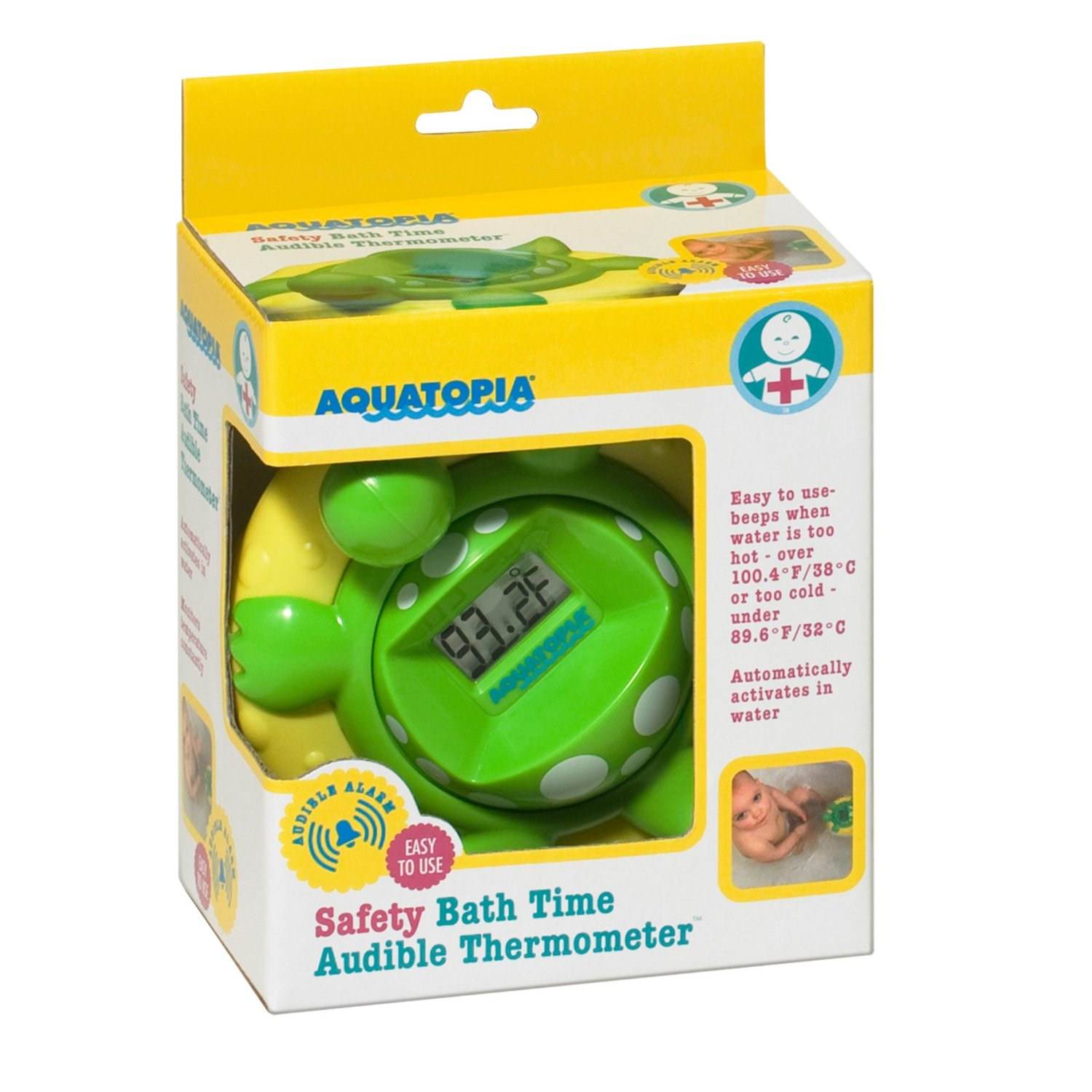 Aquatopia Deluxe Safety Bath Thermometer Alarm