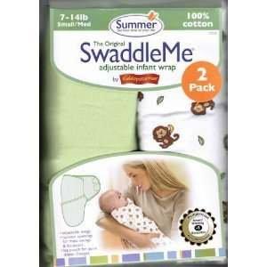 Summer Infant Cotton Knit SwaddleMe 2-pack