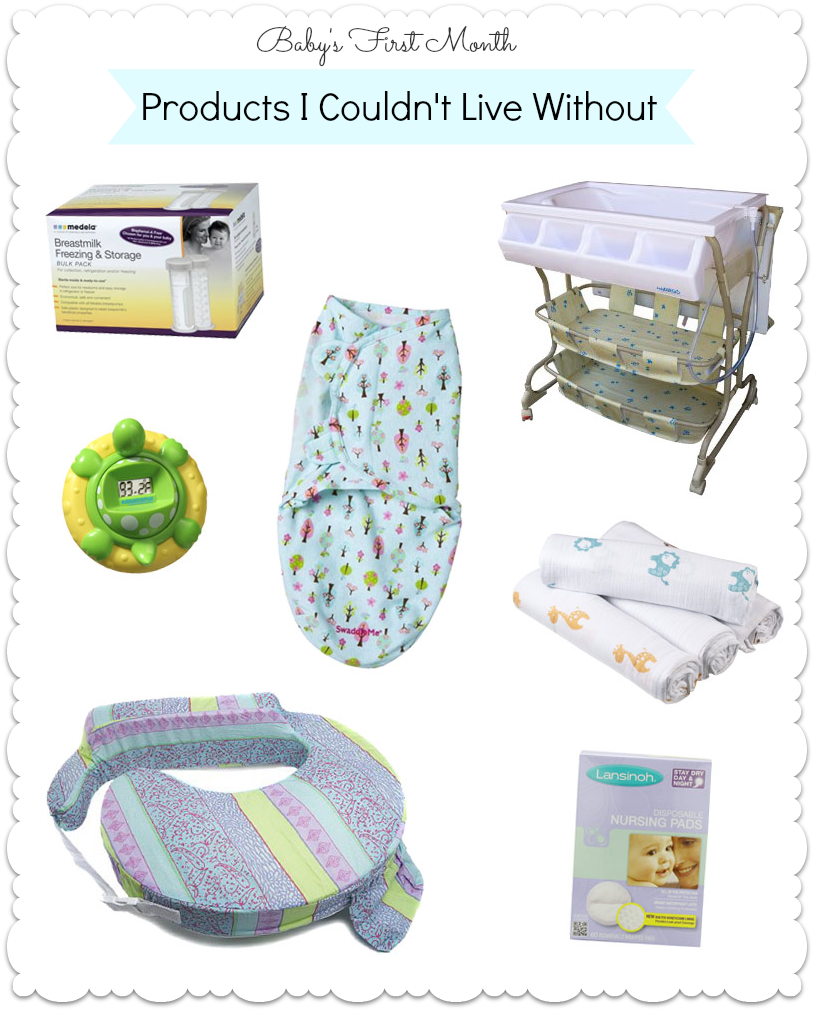 Products for Baby's First Month
