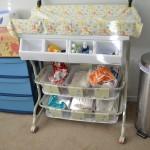 How we do cloth diaper storage