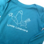 Growing Up Wild Little Locavore Organic Bodysuit for Baby