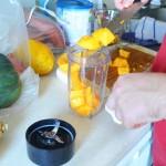 Making Papaya Baby Food