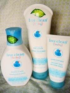 Live Clean Baby Line