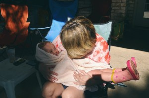 Being babied by Grammy