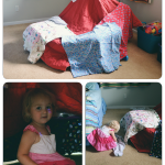Isla's 1st Pillow Fort