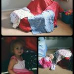 Isla's 1st Pillow Fort