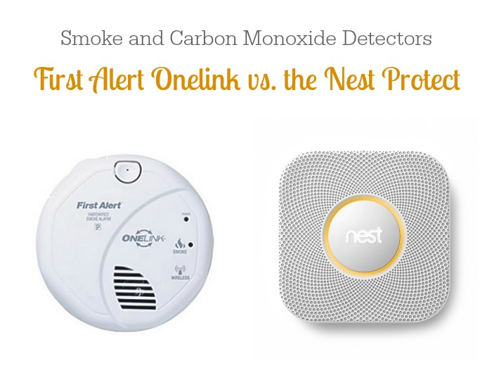 Smoke and Carbon Monoxide Detectors: First Alert Onelink vs. Nest Protect