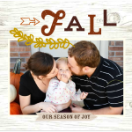 The Lazy Scrapbooker: Recording Fall Memories
