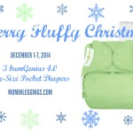 Merry Fluffy Christmas Giveaway: 3 bumGenius 4.0 One-Size Pocket Diapers