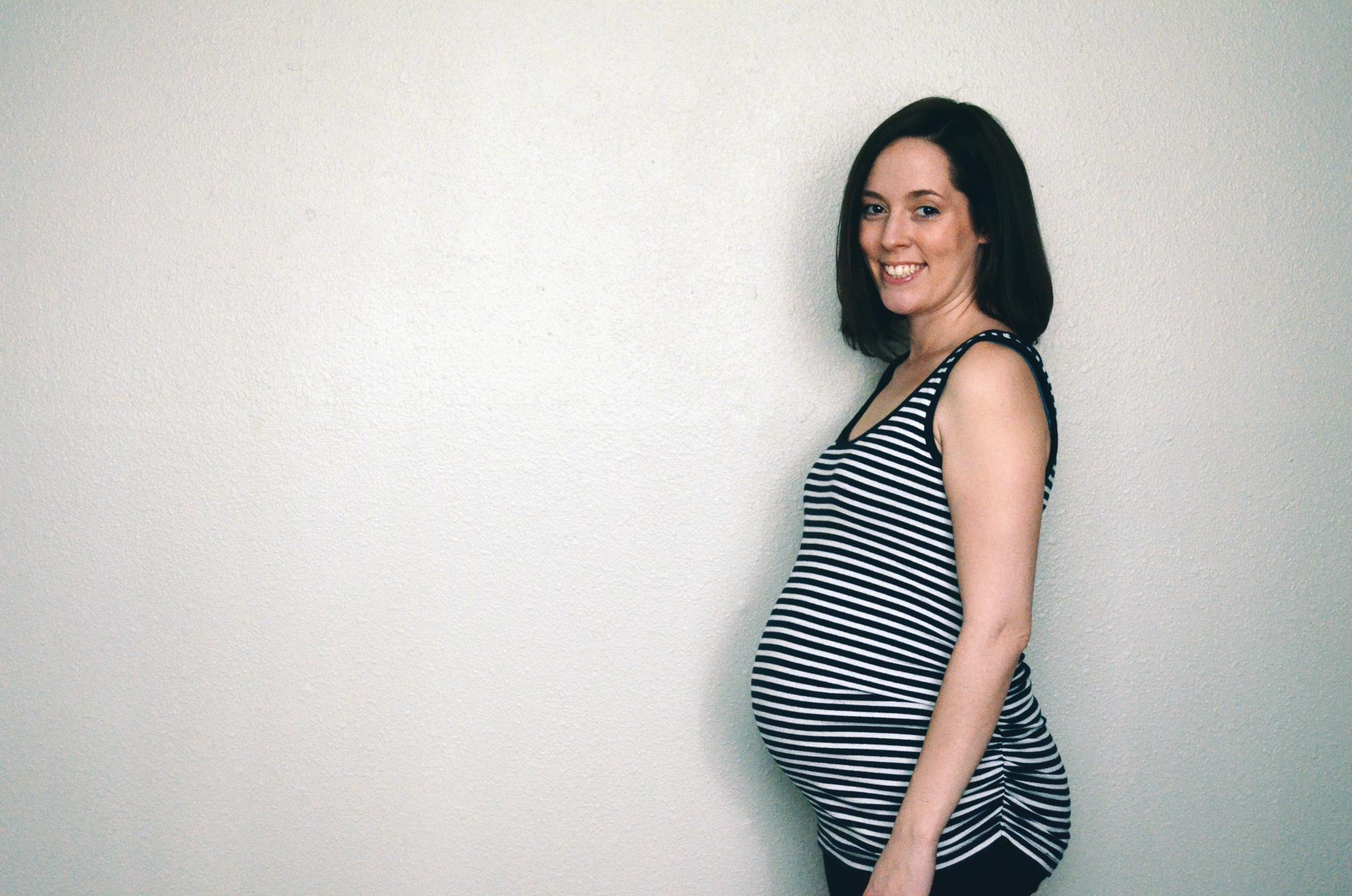 30 weeks belly pic